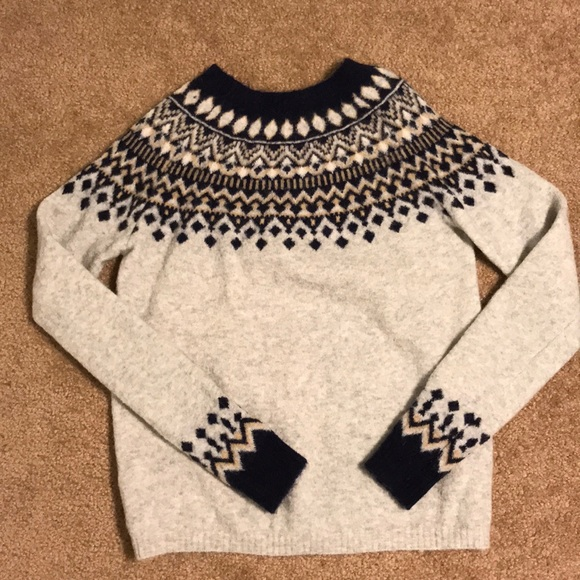 61% off Joie Sweaters - Joie fair-isle sweater size M from ...